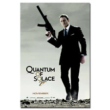 Quantum of Solace Movie Posters Wall Art Canvas Painting Home Decor 24X36inch