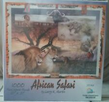larry k martin puzzle African safari puzzle family animals collectible children