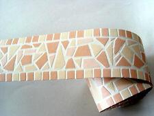 3x Readyroll selbstklebende Bordüre Border 5mx6cm Broken Mosaic peach 61985 (3)
