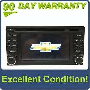 2015 - 2017 Chevrolet City Express OEM Touch Screen Navigation AM FM Bluetooth