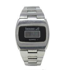 Orologio Eberhard 40001 digitale referenza 40001-326 Digital Watch vintage 37 mm