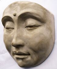 Tranquil Buddha Wall Sculpture Beautifies Any Wall or Door, Feng Shui Decor