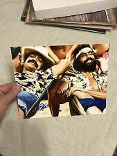 CHEECH AND CHONG Signed Autographed 8x10 PHOTO TOMMY Chong Cheech Marin Proof
