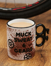 Dreck Schweiss & Durchgang Keramik Tasse Tee Kaffee Getränk Fahrrad Rad Geheim