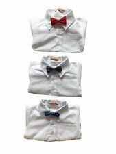 Jungen Body Hemd Taufe Hemdbody Weiß Langarm  Größe 56 62 68 74 80 86
