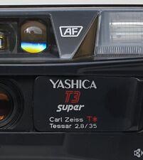 Kamera Yashica T3 super mit Carl Zeiss Tessar T* 2,8/35mm