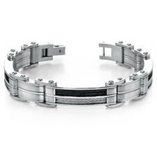 Peora High Class Stainless Steel Bracelet for the modern Metro Man