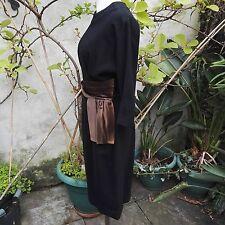 1960 Vintage Dress by Riddella Model Black Clothing
