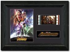 Avengers: Infinity War Stunning framed 35mm film cell display Cast Signed