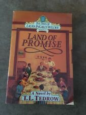 The Days Of Laura Ingalls Wilder Book 8 Land Of Promise Paperback By TL Tedrow