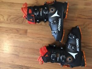 Atomic Hawx Ultra Xtd 130 Alpine Touring Boot 28 / 28.5 black orange Ski