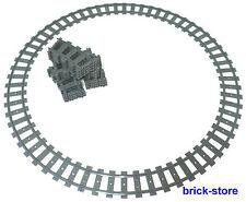 LEGO ® ferrovia 2x rotaie cerchio/32x gebogne rotaie (7938,7939,60051,60052)
