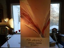 """Rare Poster: Eva Alvarez Art Expo NY  Coliseum April 7-11 83 24 x 38"""" (Wang Labs"""