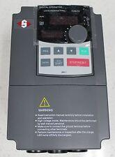 1.5 KW (2 HP) single to 3 phase VSD Freq upto 400Hz, speed control, Dual display