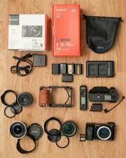 24.3MP A6000 Sony Alpha fotocamera digitale con un sacco di accessori.