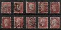 SG43. 1d.Rose-Red. Plates116-127 (Less 120). Original Colours-Good/FU.  Ref:0.62
