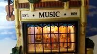 DEPT 56 Dickens Village SWIFT'S STRINGED INSTRUMENTS!   3D Scene, Music, Violins