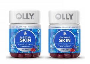 Olly Glowing Skin Plump Berry Gummies 2 Bottle Pack