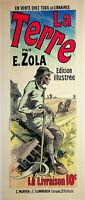 Jules Cheret: Emile Zola, El Barro - Litografía Original, Firmada 1897