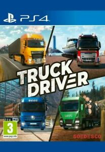 Truck Driver PS4 sony PlayStation 4 Driving Simulator game new sealed fast post