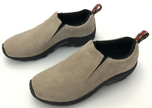 Merrell  Classic Taupe Slip On Loafers Casual Shoes Mens 11 J60801 camp hiking