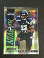 F62210  2013 Rookies and Stars Longevity Gold Parallel #87 Percy Harvin /49