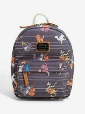 Loungefly Cats Disney Mini Backpack Bag Cheshire Cat Aristocats