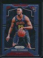 2019-20 Panini Prizm Rookie Card RC #277 Bruno Fernando Atlanta Hawks