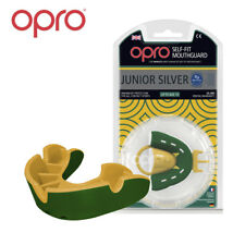 OPRO Silver Level Junior Mouth Guard Gum Shield For Rugby- 12 Month Warranty