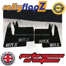 03-05 Bavettes Kit Noir WRX blanc 4 mm PVC RallyflapZ Subaru Impreza Blobeye