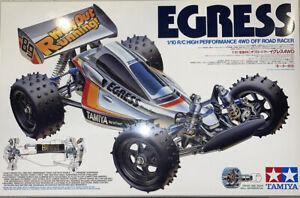 Tamiya Vintage Egress 1989 NIB With Extras RARE