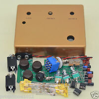 DIY Overdrive Golden  Boost Guitar Effects Pedal Full Kits Free Shipping