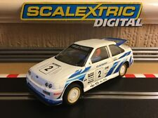 Scalextric Digital Ford Escort Cosworth C203 Fully Serviced Great Condition