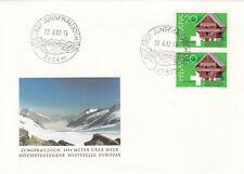 (05047) Switzerland Cover Jungfraujoch 22 June 1982