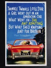 Taylor: Bamforth & Co American Car Theme TWINKLE TWINKLE LITTLE STAR A GIRL....