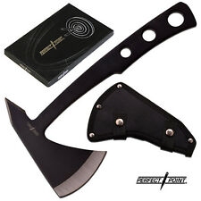 """NightRage Tactical Throwing Axe - 9 1/2"""" Tomahawk Survival Hatchet Perfect Point"""