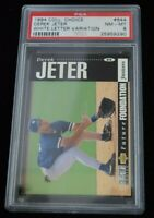 PSA Graded 8 1994 Collector's Choice Derek Jeter Baseball Card New York Yankees