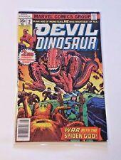 Marvel Comics Group DEVIL DINOSAUR #2 - War with the Spider God! 1978 02614