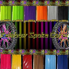 Speichen Spoke cover Spoke style Ribbs Speichen Design Original Rainbow 72 Stck!