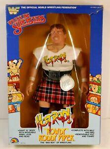 """WWF 16"""" ROWDY RODDY PIPER FIGURE 1985 LJN"""