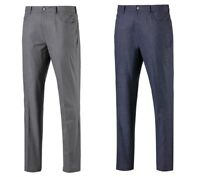 PUMA JACKPOT 5-POCKET HEATHER PANT MENS GOLF TROUSERS - NEW 2019