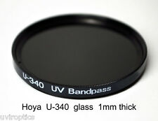 Hoya U-340 67mm x 1mm thick UV Pass Ultraviolet Dual Band IR Filter