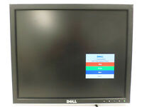 """DELL 1707FPt 17"""" Flat LCD 1280 x 1024 Monitor DVI VGA USB *NO STAND* Power Cable"""