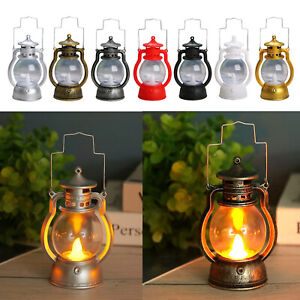 LED Oil Table Lamp Lantern Nightstand Bedside Lamp for Outdoor Garden Tree