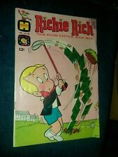 Richie Rich #78 harvey comics 1969 silver age the poor little rich boy golf cvr