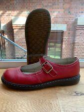 Dr Martens Kara Red Leather Shoes UK6