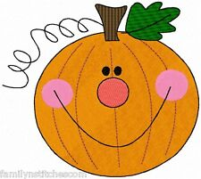 Pumpkin Patch 17 Machine Embroidery Designs on multi-formatted CD