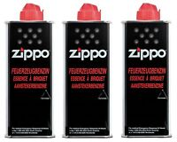 ZIPPO - FEUERZEUG - BENZIN - 3 x 125 ML - FEUERZEUGBENZIN - ORIGINAL -