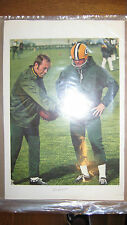August 25, 1972 Bart Starr Green Bay Packers Sports Illustrated Press Proof