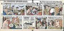 1978 AMAZING SPIDERMAN JOHN ROMITA SR. SUNDAY PROOF PAGE PRODUCTION ART STAN LEE